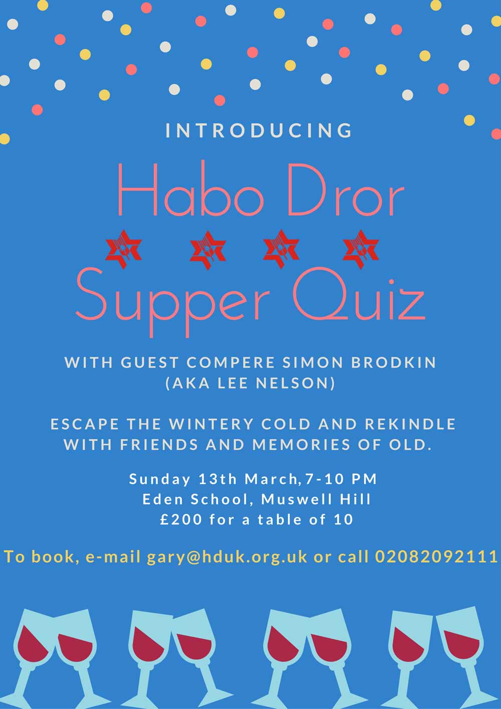 Habo-Dror-Supper-Quiz
