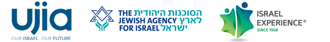 Logos of UJIA, The Jewish Agency for Israel and Israel Experience